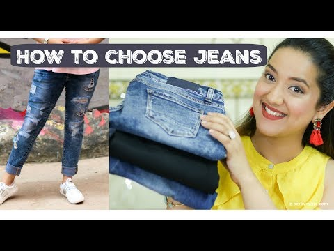 How to choose Jeans as per Body Type | Plus size/Normal/Skinny body fashion tips