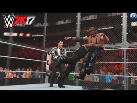 Roman Reigns vs.Kevin Nash  -Hell In A Cell Match match- Dream Match - WWE-2K17