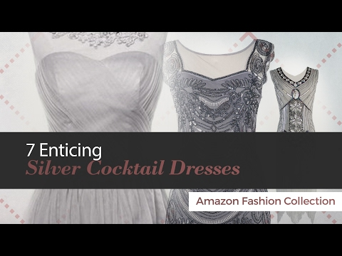 7-enticing-silver-cocktail-dresses-amazon-fashion-collection