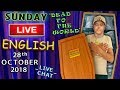 watch he video of Learn English Live Lesson - 28th October 2018 - Death Expressions + idioms - 12 Years on YouTube