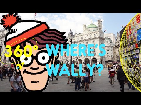 Where's Waldo ? In Piccadilly Circus | 360 Degrees for Kids
