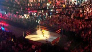 Lilian Garcia sings the British National Anthem @ London O2 - 2009 edition