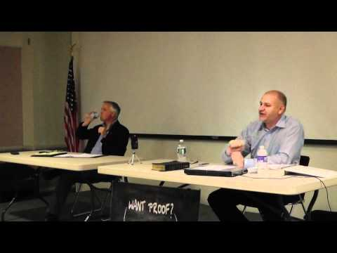 Christian - Atheist Debate at Syracuse New York