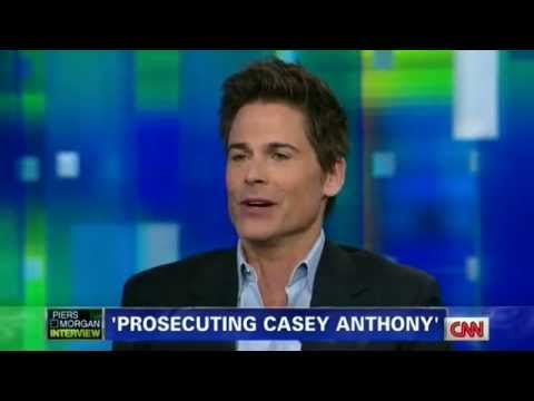 Piers Morgan Tonight, Interview with Rob Lowe - Jan 14, 2013