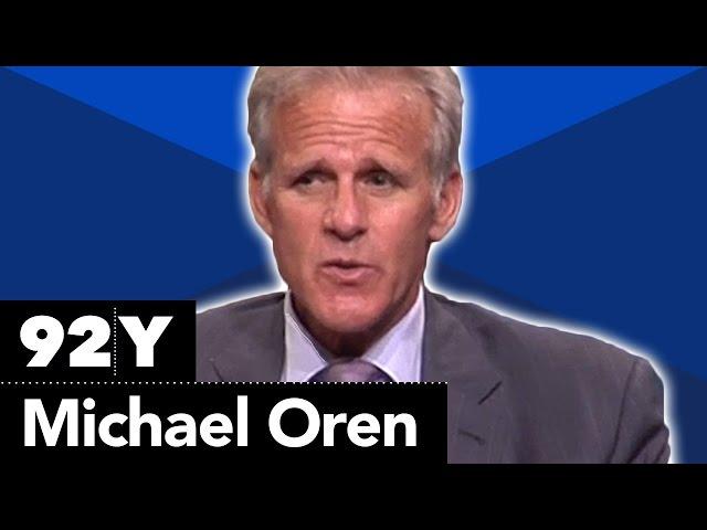 Dr. Michael Oren with Jonathan Rosen on Ally: My Journey Across the American-Israeli Divide