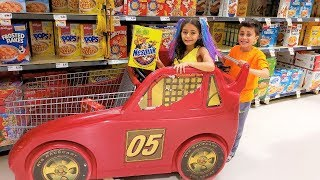 Heidi  सुपरमार्केट मे खेलने की | Heidi & Zidane Hindi fairy tales