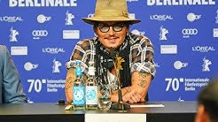 JOHNNY Depp - Berlinale 2020