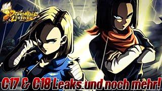 C17 & C18 LEAK und noch viel mehr! So viel neues im August! O.O  | Dragon Ball Legends Deutsch