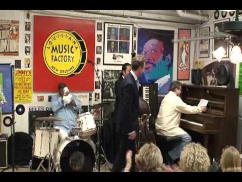 Jeremy Davenport @ Louisiana Music Factory JazzFest 2009