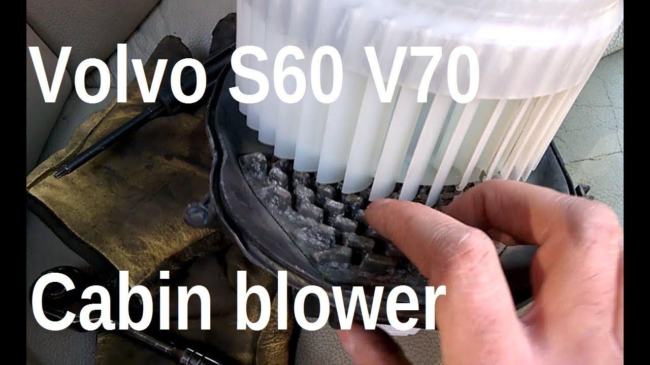 AC Heater Blower Motor Volvo C70 S70 V70 Premium