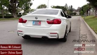 Exhaust Notes: Remus Sport Exhaust for 2014+ M3/M4 [F80/F82]