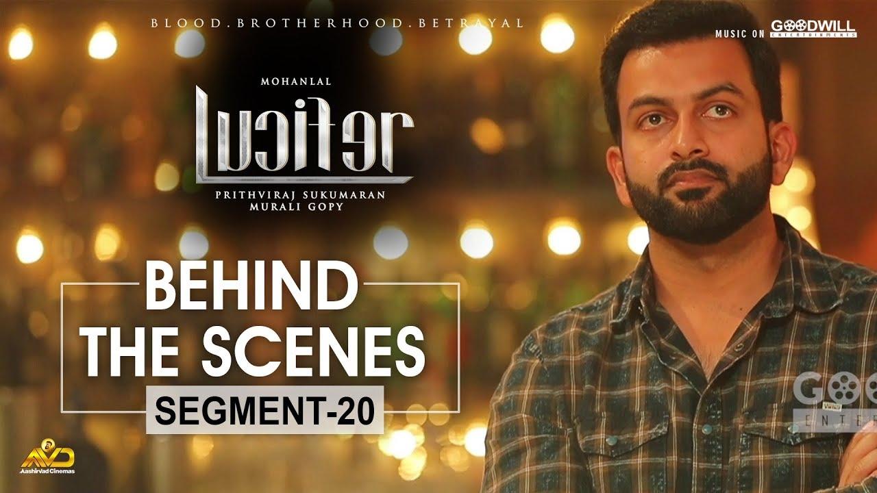 LUCIFER Behind The Scenes - Segment 20 | Mohanlal | Prithviraj Sukumaran | Antony Perumbavoor