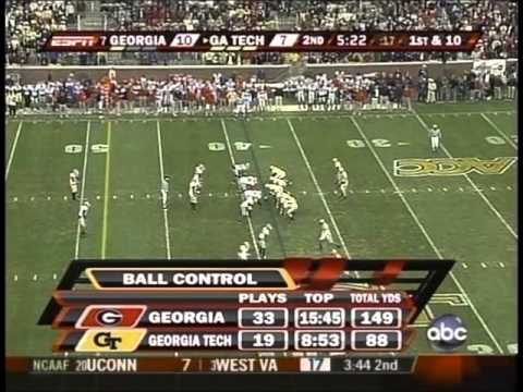 #7 Georgia vs. Georgia Tech 2007