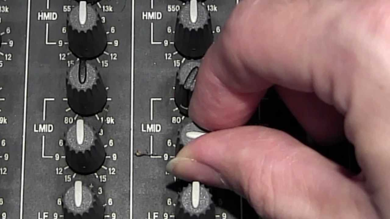 How To Use The Mixers Eq Section Youtube Dictionary Of Electronic And Engineering Terms Audio Mixer Circuit