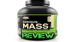 Serious Mass by Optimum Nutrition Weight Gainer Review