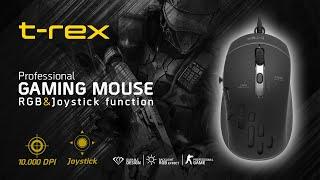 T-REX Joystickli Programlanabilir Oyuncu Mouse (10,000 DPI )