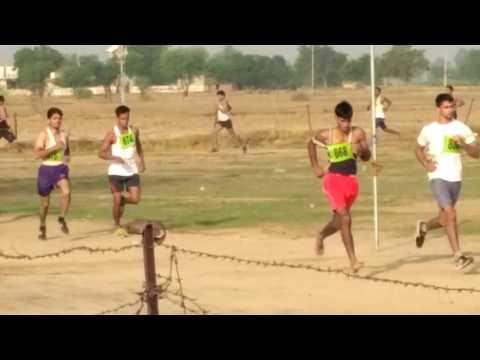 1600 miter race in Delhi police