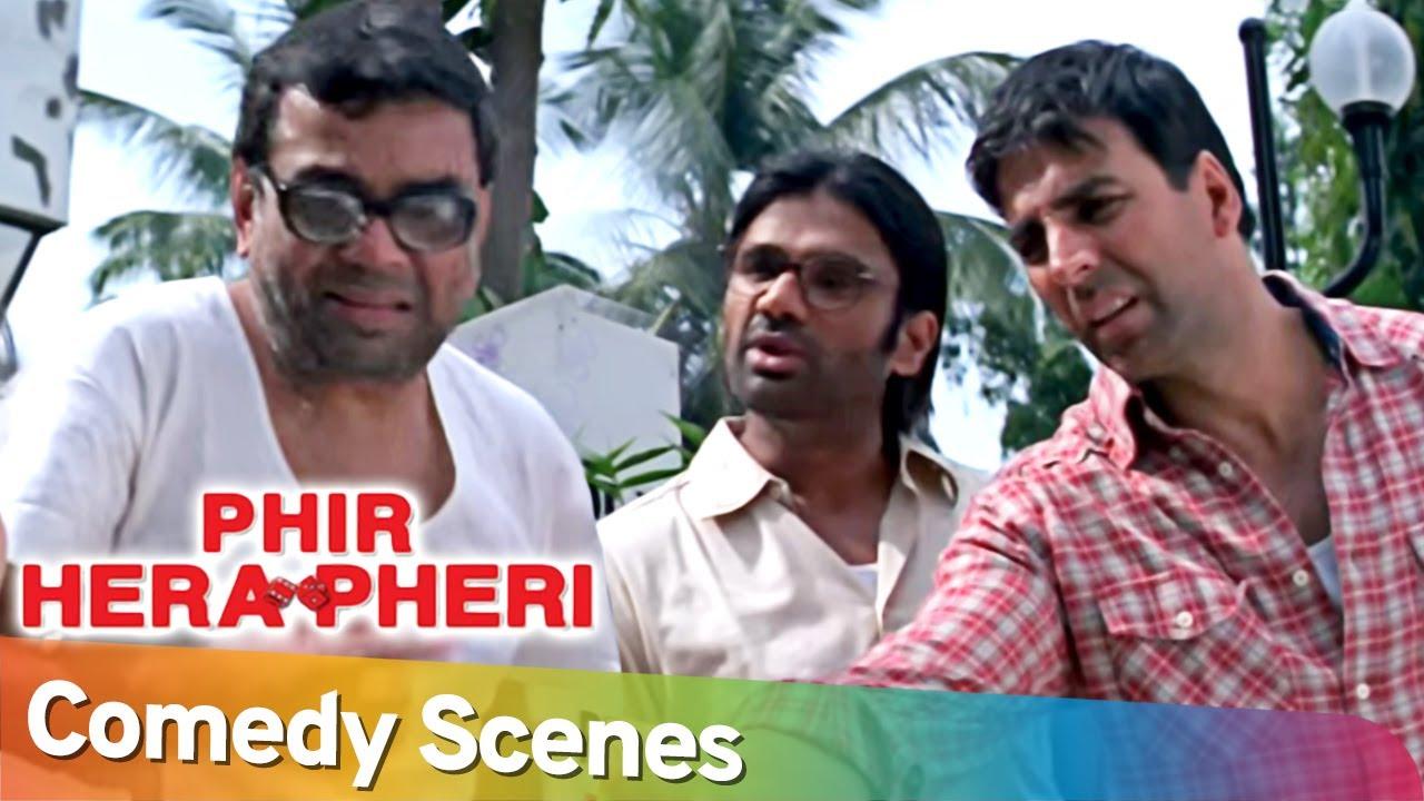 Phir Hera Pheri | Best of Hindi Bollywood Comedy Scenes   Akshay Kumar   Paresh Rawal   Rajpal Yadav