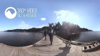 360 Video of Sea to Summit on Bowen Island