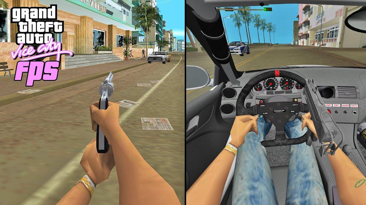 GTA Vice City 30 FPS VS 500 FPS (WHY FRAME LIMITER?)