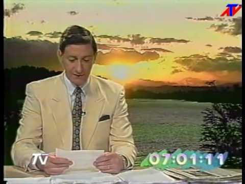 1996 TVN 24 horas MATINAL  31 Marzo 1996
