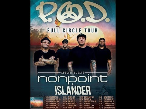 P.O.D., Nonpoint and Islander U.S. Tour announced..!