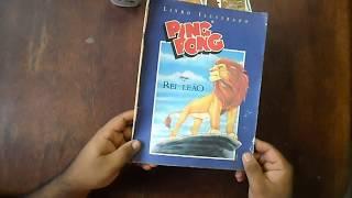 coleção Álbum de Figurinhas O REI LEÃO (1994) Ping Pong Disney