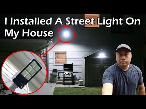 I Installed A Street Light On My House