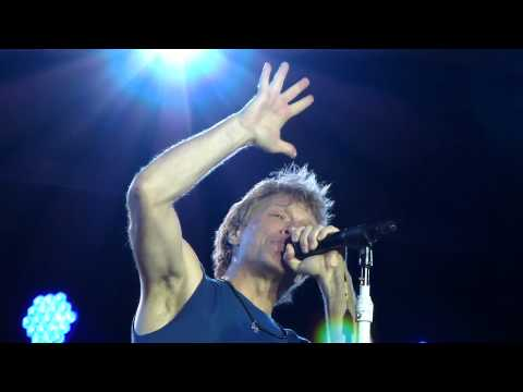 Bon Jovi 'This ain't a love song' San Siro,Milan 29/06/13