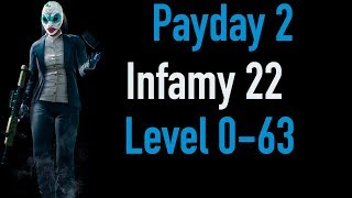 Payday 2 Infamy 22 | Part 1 | Level 0-63 | Xbox One