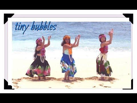 Tiny Bubbles Hawaiian Dance