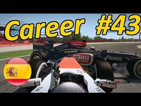 F1 2013 Spain 100% Career Mode Part 43: Catalunya