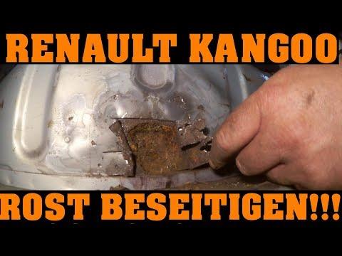 Renault Kangoo - DER KAMPF GEGEN DEN ROST 🔧🔧🔧