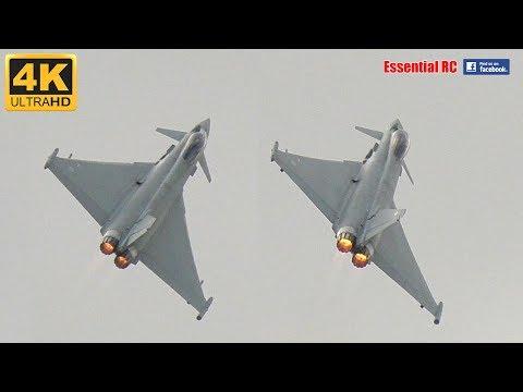 RAF Eurofighter Typhoon FGR.4 at RIAT 2017 [*UltraHD and 4K*]