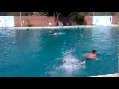 M asim faraz swimming at punjab university swimming pool - Swimming pool in bahria town lahore ...