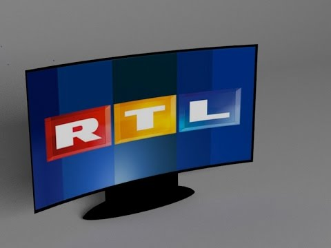 3DS Max Curved TV