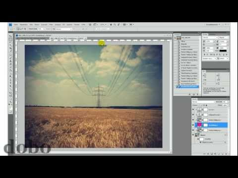 Vintage-Effekt – Photoshop-Tutorial