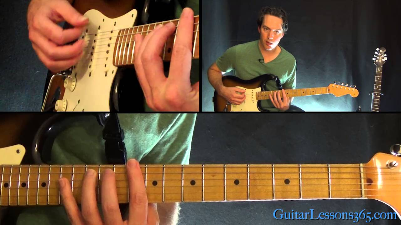 We Are The Champions Guitar Lesson Pt 1 Queen Youtube