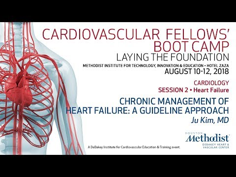Chronic Management Of Heart Failure: A Guideline Approach (Ju Kim, MD)