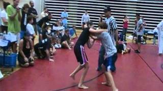 Tori Reed 10 Years Old absolute NO-GI girl grappling MMA 2010. Jonesboro, Ga. COPA America