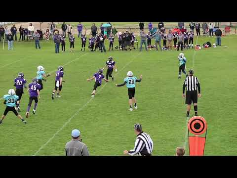 Insane Punt Return by a 13 Year Old!