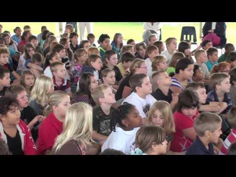 Rowdy Gaines Visits Longwood Elementary
