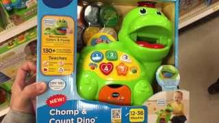 "Vtech ""chomp & Count Dino"" Toddler/baby Learning Dinosaur Toy / Toy Review"