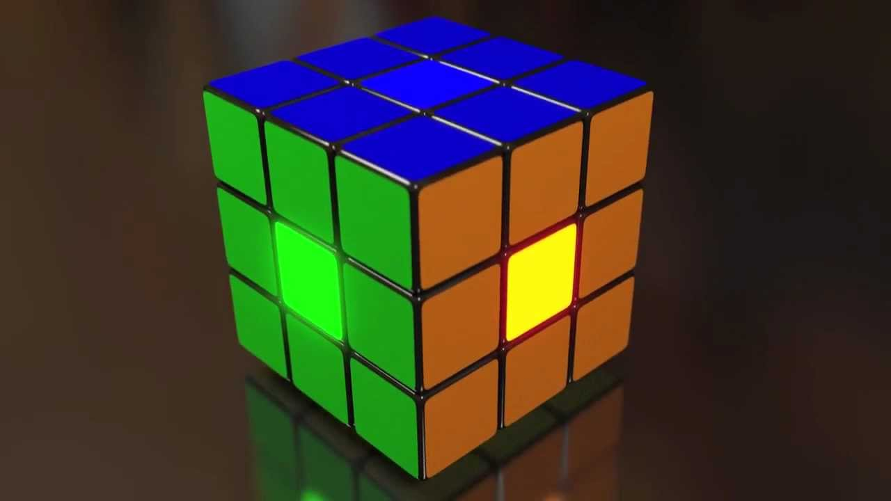 rubik 39 s cube blender animation youtube. Black Bedroom Furniture Sets. Home Design Ideas