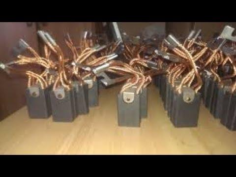 Бесплатные  щетки для электро двигателей вашего инструмента !