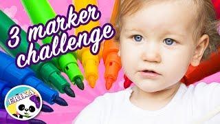 3 MARKER CHALLENGE   ERIKA GOLUBEVA