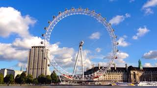 London Eye timelapse