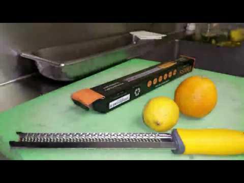 Deiss® Citrus Zester & Cheese Grater - Review
