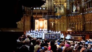 Хор мальчиков монастыря Монсеррат. Boys Choir of the Montserrat Monastery 30.09.2014(Гимн исполняется на Каталанском языке. Монастырь Монсеррат (кат. Monestir Santa Maria de Montserrat, исп. Monasterio de Montserrat)..., 2014-10-05T21:11:42.000Z)