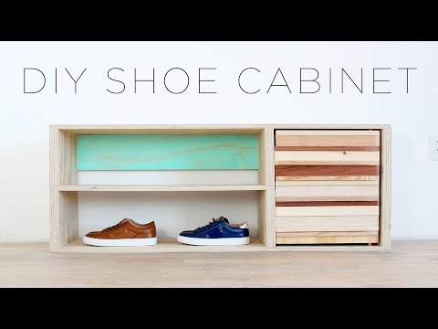 How to Cast a Human Head, Build a Shoe Rack, Make Efficient Use of Storage Space, Stain Wood with Kitchen Materials & More